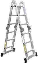 Escalera multiuso de aluminio Cofan