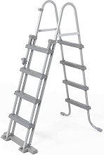 Escalera para Piscina Desmontable Bestway de 122 cm