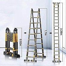 Escaleras, Escalera telescópica portátil