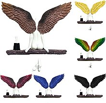 Escultura de pared de alas de ángel Ícaro tenía