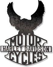 Escultura Pared Harley Davidson
