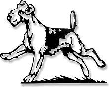 Escultura Pared Perro
