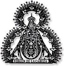 Escultura Pared Virgen de la Cabeza