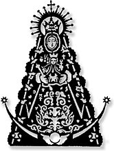Escultura Pared Virgen Rocio