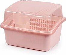 Escurridor de platos Caja de almacenamiento de