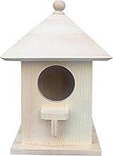 Esenlong Cajas para pájaros, caja de madera para