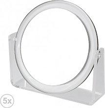 Espejo Baño Redondo 5x - Trends Home Selection