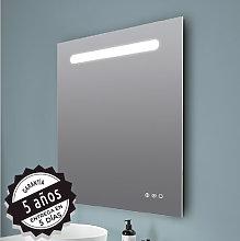 Espejo de baño cuadrado/rectangular Stripe de