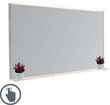 Espejo de baño moderno 60x100cm LED