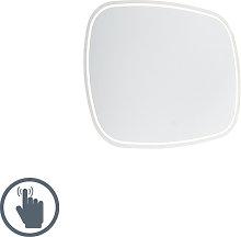Espejo de baño moderno 60x80cm LED