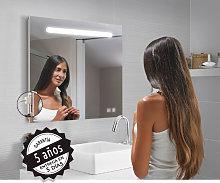 Espejo de baño rectangular Stripe de Bruntec