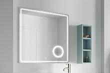 Espejo de Coycama Cosmos con luz Led de aumento