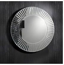 Espejo de cristal cuadrado Zeus 100 cm