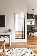 Espejo de Cuerpo Entero Rectangular Negro [160 x