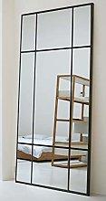 Espejo de Cuerpo Entero Rectangular Negro [220 x