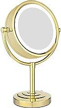 Espejo de maquillaje con iluminación LED de