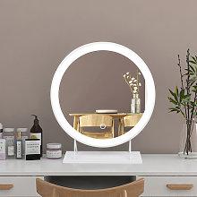 Espejo de maquillaje con Luz, Espejo de Mesa, Led