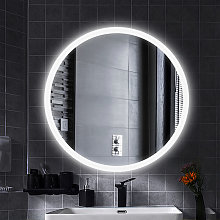 Espejo de maquillaje Espejo de pared redondo +