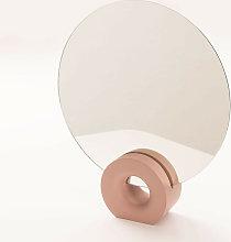 Espejo de Mesa Nives SKLUM Madera de Suar Rosa