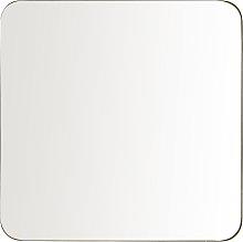 Espejo de metal dorado 110x110