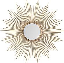 Espejo de metal dorado D.99
