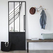 Espejo de metal negro 67x190