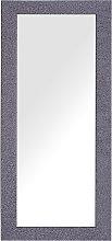 Espejo de pared 50x130 cm lila grisáceo LILAS