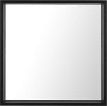 Espejo de pared 50x50 cm negro BRIGNOLES