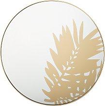 Espejo de pared ø56 cm dorado ADONARA