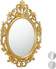 Espejo de pared barroco, Decoración de baño o