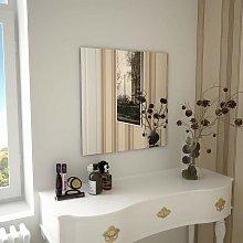 Espejo de pared cuadrado vidrio 60x60 cm - Hommoo