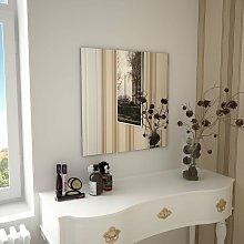 Espejo de pared cuadrado vidrio 60x60 cm