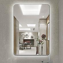 Espejo de pared de baño, control táctil
