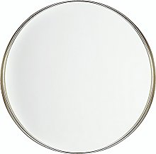 Espejo de pared de latón ø40 cm PINEY