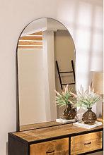Espejo de Pared en Metal (120x77 cm) Ingrid Negro