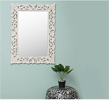 Espejo de pared esculpido de estilo barroco MANELE