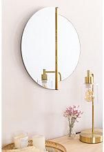 Espejo de Pared Jasmine Dorado Sklum