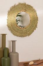 Espejo de Pared Redondo en Esparto (Ø53 cm) Leil