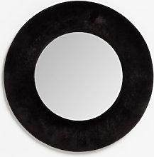 Espejo de Pared Redondo en Terciopelo (Ø41 cm)
