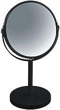 Espejo de pie de metal en color negro 17 x 17 x 27