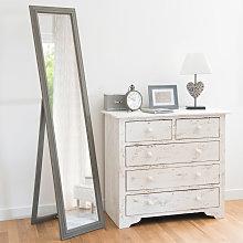Espejo de pie de paulonia 40x168