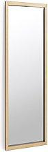 Espejo de pie Enzo negro rectangular 48 x 148 cm