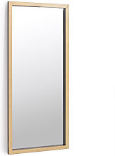 Espejo de pie Enzo negro rectangular 78 x 178 cm