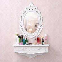 Espejo de tocador SZFMMY®, montado en la pared,