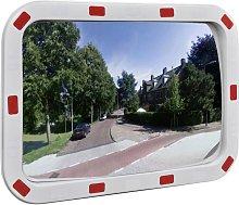 Espejo de Tráfico Convexo Rectangular con