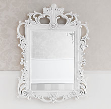 Espejo decorativo Delphina estilo Barroco marco