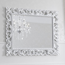 Espejo decorativo Zaafira estilo Barroco con marco