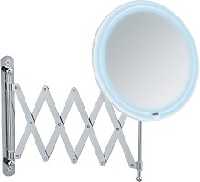 Espejo LED de pared telescopico Barona
