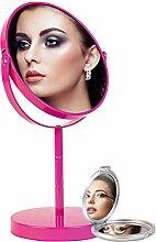 Espejo Maquillaje con Aumento 1X2X Doble Cara y