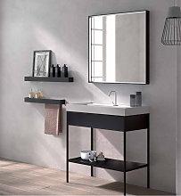 Espejo rectangular con marco sin luz 80cm sin luz